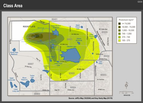 Complete RF contamination map